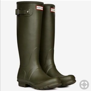 Hunter Huntress Boots Hunter Green